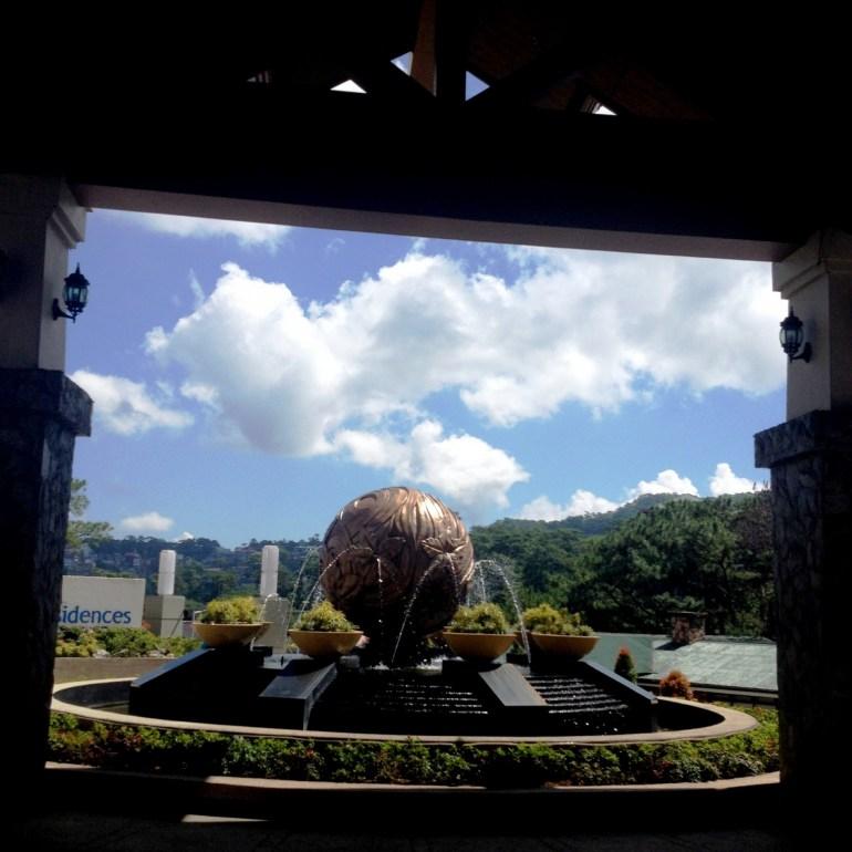 Azalea Residences Baguio Fountain   Turista Boy