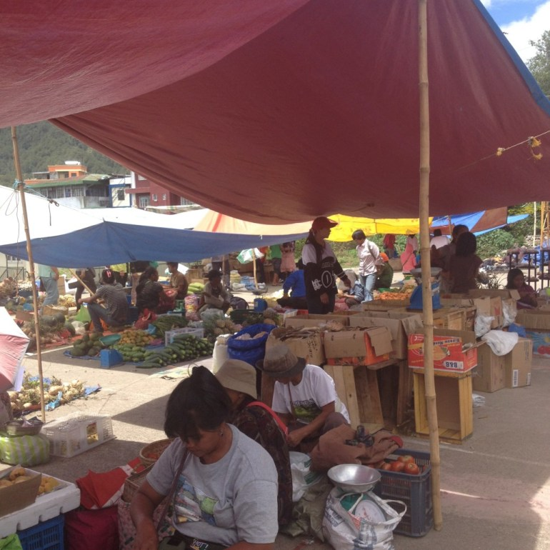 The Sagada Open Public Market