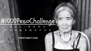 #1000PesoChallenge: Kalinga's Mambabatok