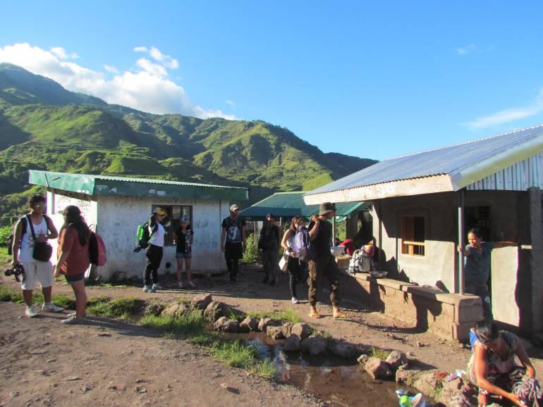 Drop-off point going to Buscalan Village - Kalinga