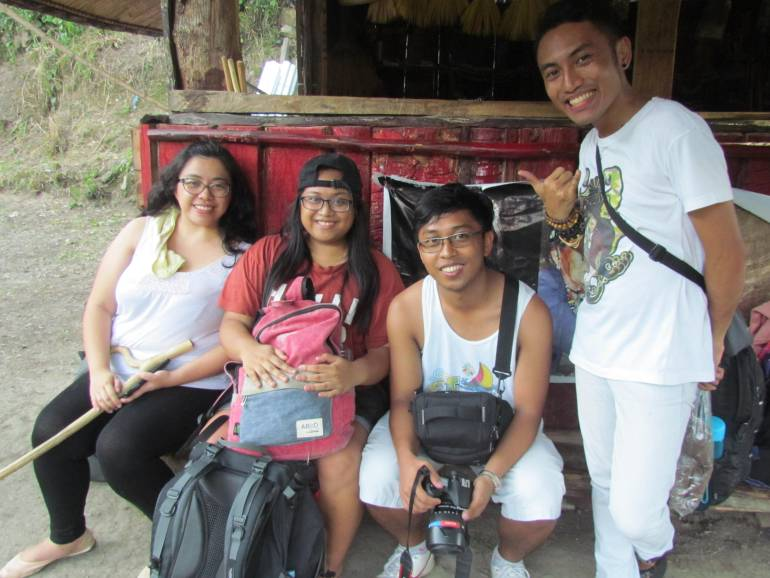 With the gang - Buscalan, Tinglayan, Kalinga