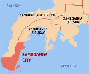 Zamboanga City Map