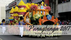 Panagbenga 2017 Schedule of Activities