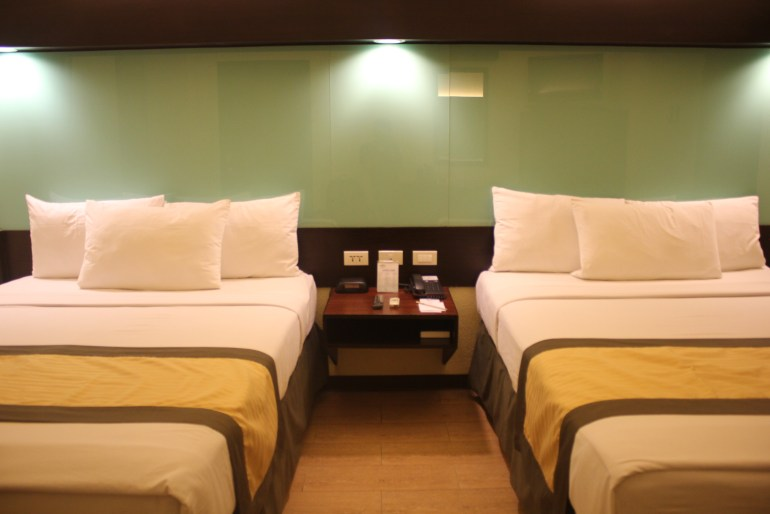 Microtel appointed rooms
