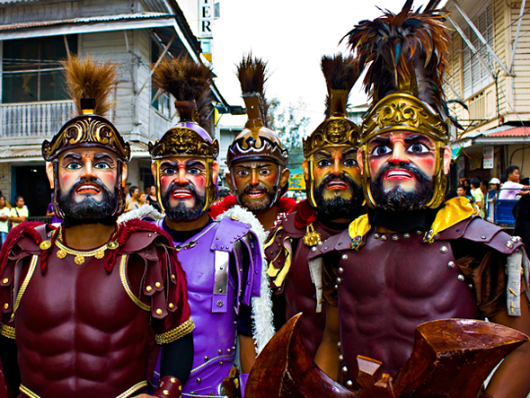 Marinduque's Moriones Festival every Holy Week (photo by www.islandsofthephilippines.com) | Turista Boy