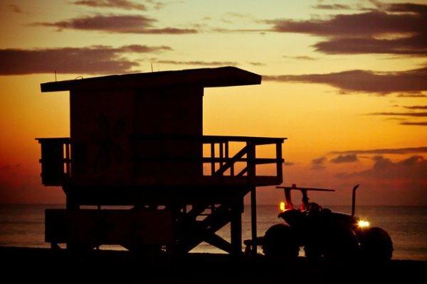 Art Decó en las playas de Miami Beach - Foto: Thomas Hawk