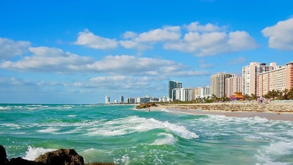 Playas de Miami Beach. Foto: Timothy Valentine