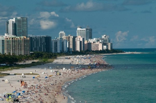 Playa de Miami Beach. Foto: Timothy Wildey
