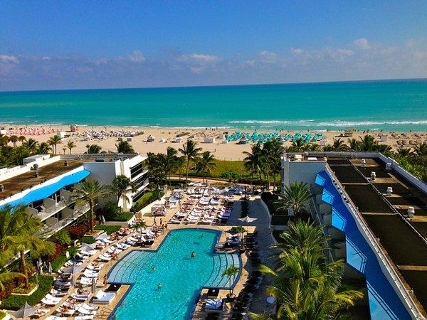 Hoteles en Miami Beach. Foto: Sarah Ackerman - Ritz Carlton Miami