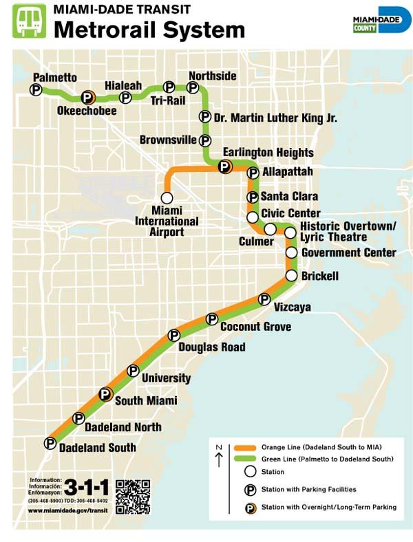 Metrorail: Foto: Miami Dade County