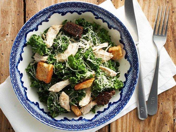 Kale Chicken Caesar Salad. Foto: The Fresh Market