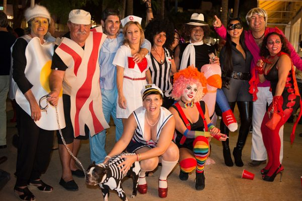Halloween en Miami. Foto: photo-gator