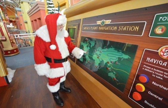 Santa en Dolphin