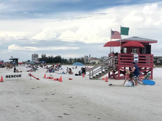 Playas de la costa oeste en Florida- siesta beach