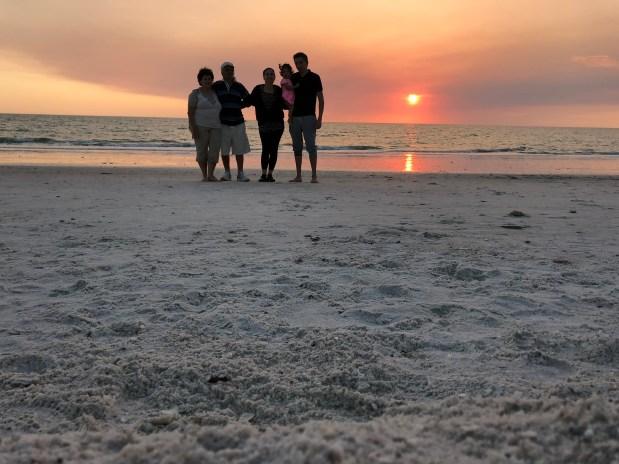 Playas de la costa oeste en Florida-sanibel