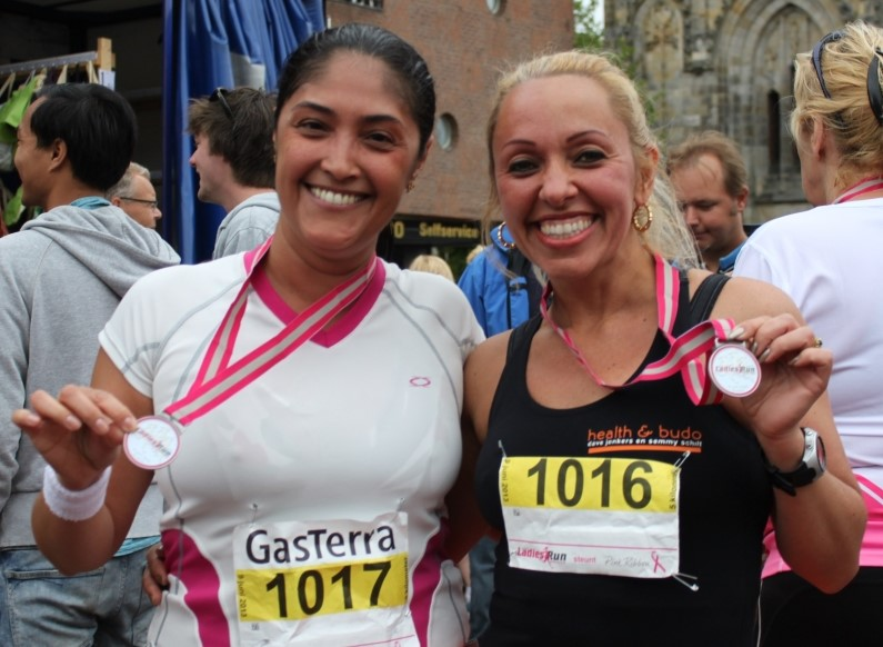 Ladiesrun 2013 em Groningen
