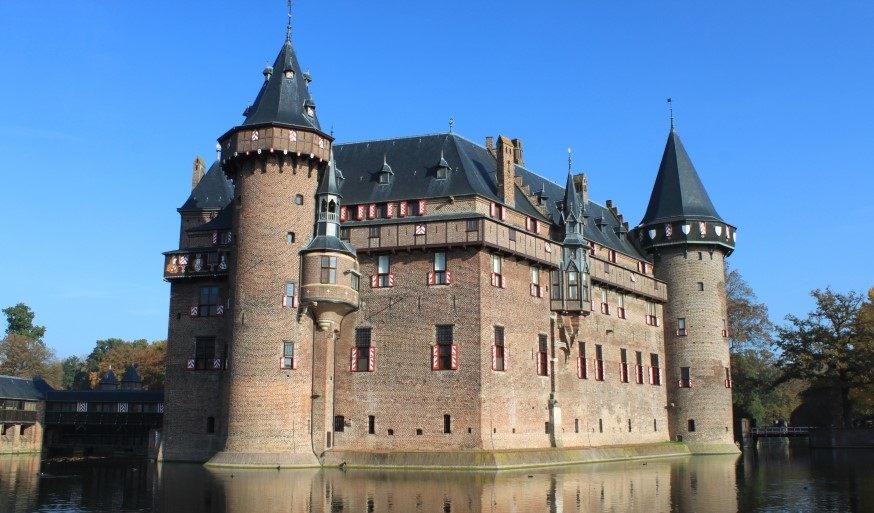 De Haar: um lindo castelo na Holanda