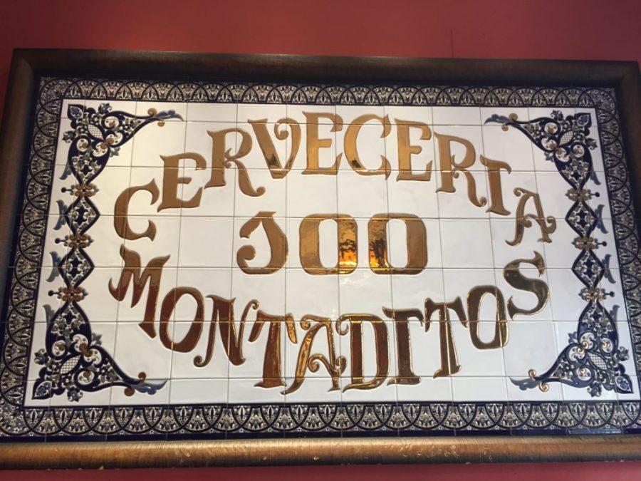Cervecería Cem Montaditos em Madri