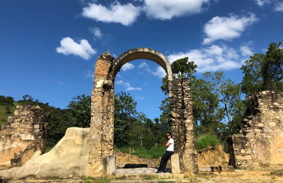 Parque São João Marcos: ruínas arqueológicas.