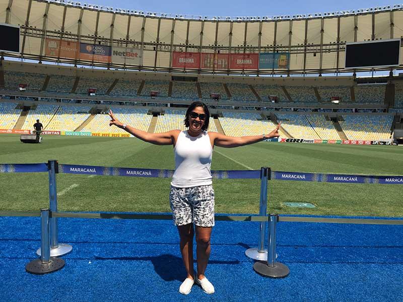 Tour no Maracanã: gramado