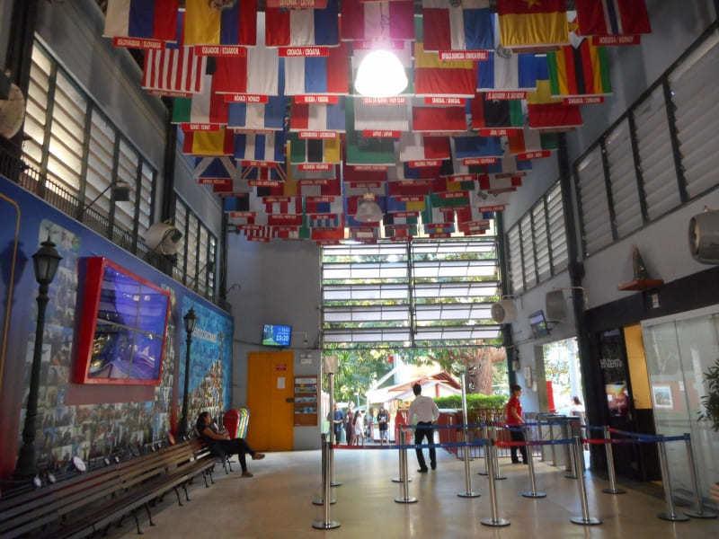 Estação do Cosme Velho para embarque do Trem do Corcovado.