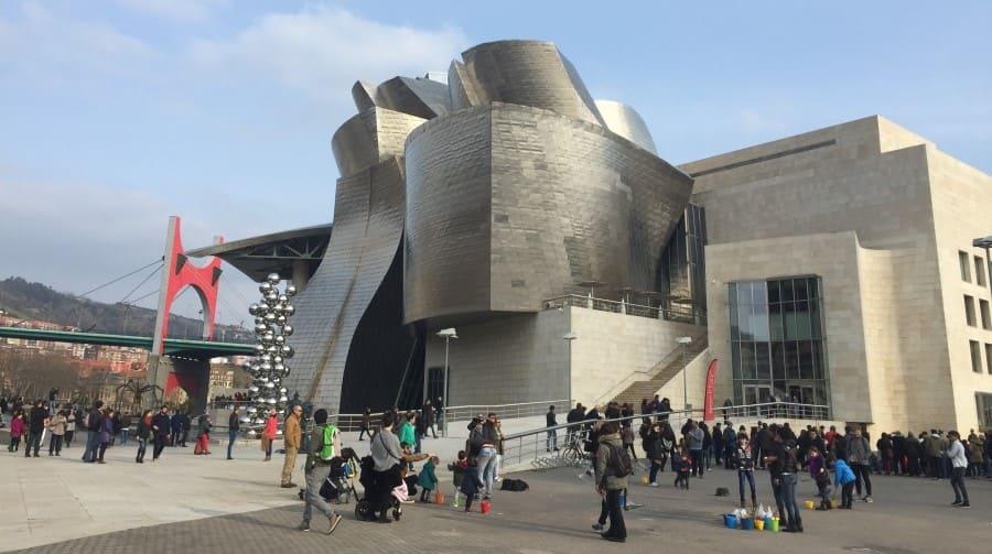 Roteiro de 3 dias em Bilbao: Museu Guggenheim.