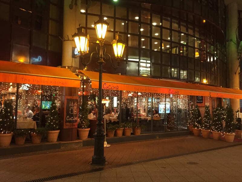 Cucina: restaurante italiano em Budapeste