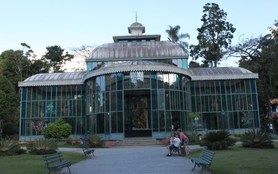Petrópolis em bate e volta: Palácio de Cristal.