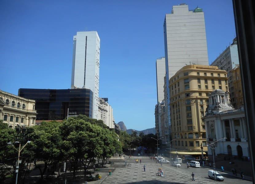 Tour do Teatro Riachuelo: Praça Floriano