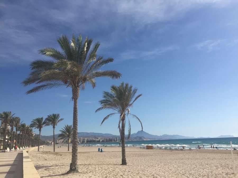 O que fazer em Alicante no verão: Playa de San Juan