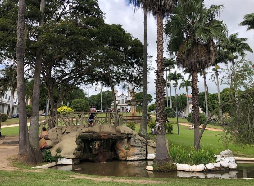 O que fazer em Vassouras: Praça Barão de Campo Belo