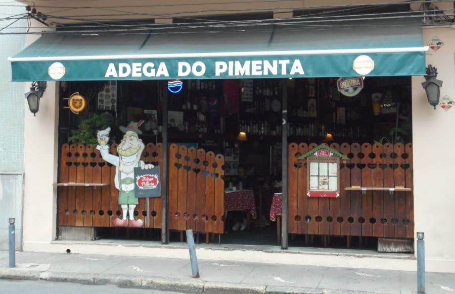Santa Teresa: Adega do Pimenta.
