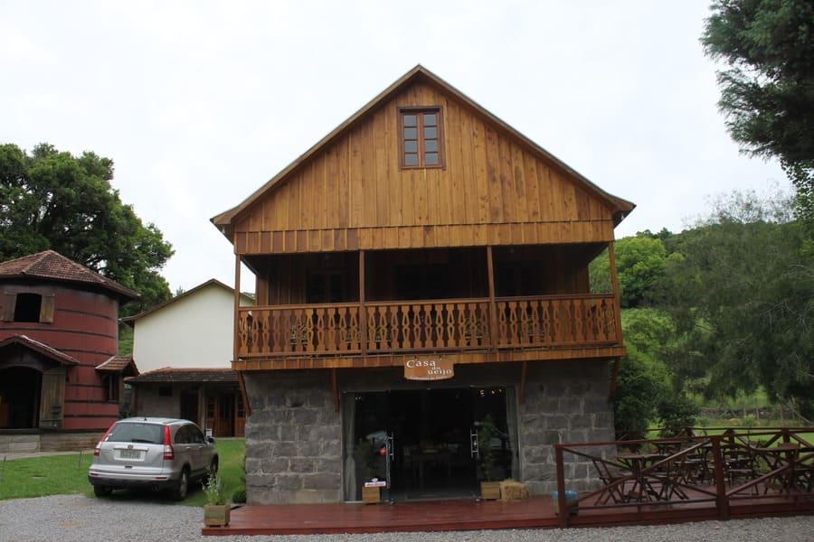 Casa do Queijo nos Caminhos de Pedra em Bento Gonçalves
