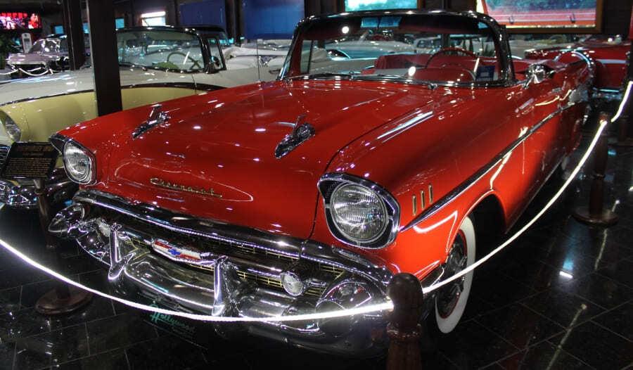 Chevrolet Bel Air do Hollywood Dream Cars de Gramado.