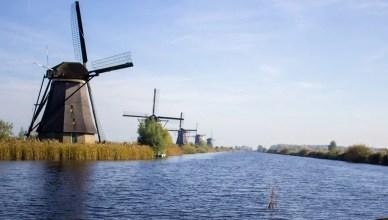 Bate e volta de Roterdã até os moinhos de Kinderdijk