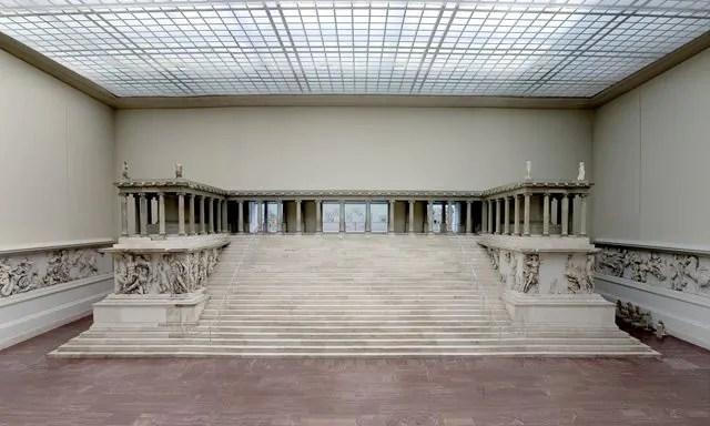 O Museu Pérgamo em Berlim.