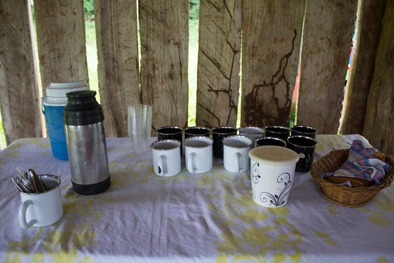 Café tropeiro no Hotel Fazenda Itáytyba em Tibagi