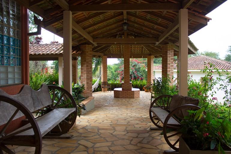 Hotel Fazenda Itáytyba em Tibagi