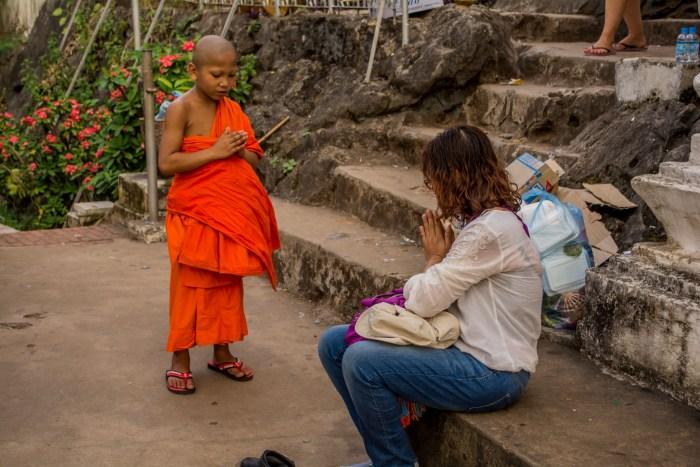 Praticando os ensinamentos budistas