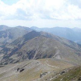 Панорама от връх Мусала