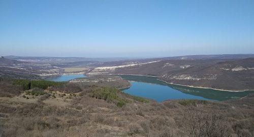 панорама към язовир Александър Стамболийски