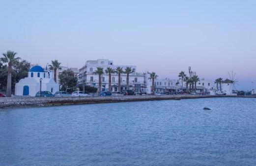 port insula paros paroikia grecia