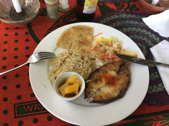 Africa - zanzibar lunch