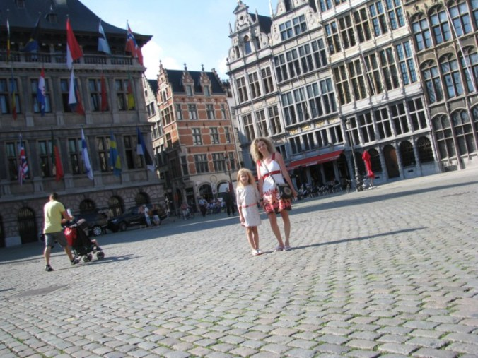 Anvers -central square