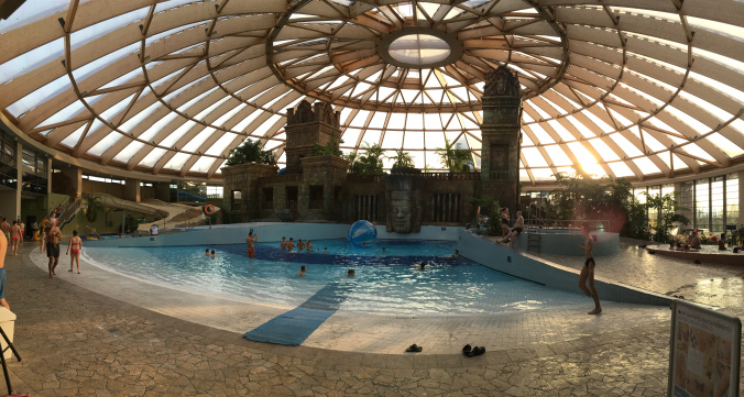 Aquaworld Budapesta - panoramic view