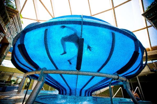 Aquaworld Budapesta - slide