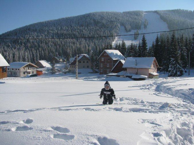 Arieseni, Sovata si Bucin - arieseni winter