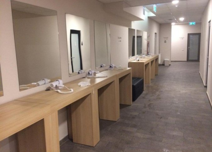 Arsenal Aquapark - lockrooms