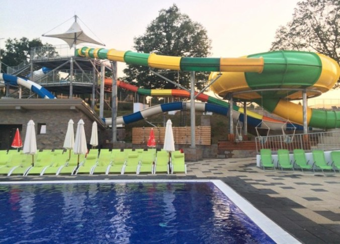 Arsenal Aquapark - slides