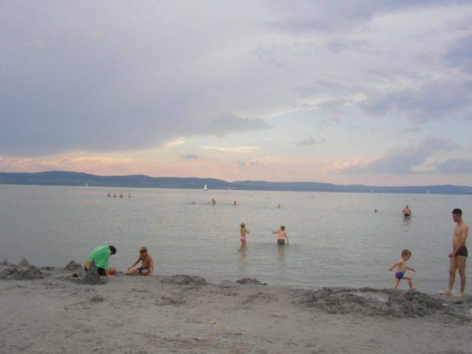 Balaton - beach